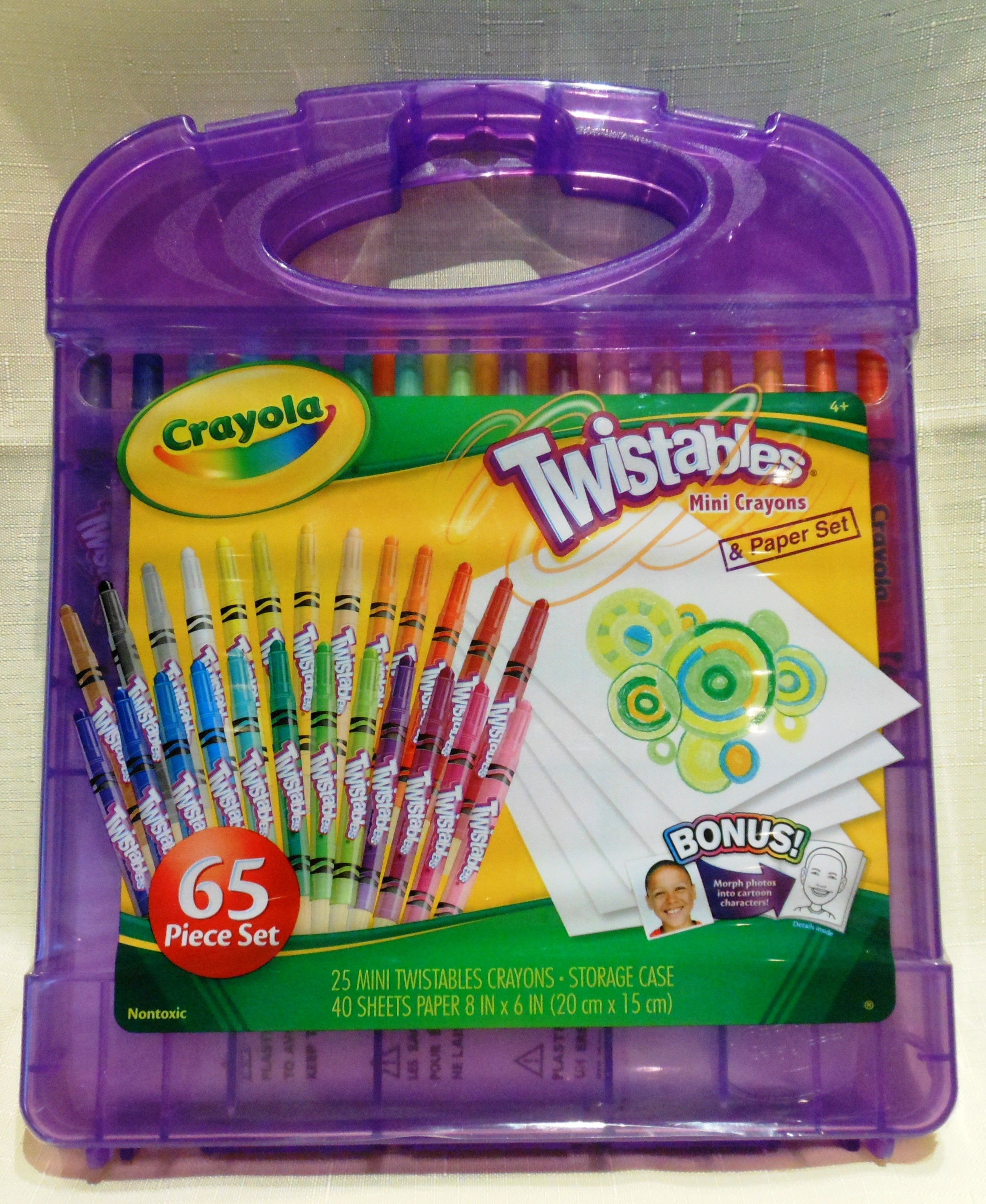 Crayola Mini Twistable Crayons and Paper Set – Perfectly Pennsylvania